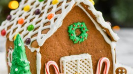 Gingerbread House Wallpaper For IPhone