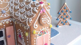 Gingerbread House Wallpaper For IPhone#1