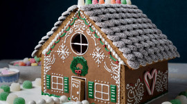 Gingerbread House Wallpaper Free