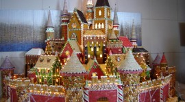 Gingerbread House Wallpaper Gallery