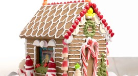 Gingerbread House Wallpaper HQ