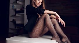 Girl Stockings Photo