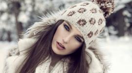 Girl Winter Hat Best Wallpaper