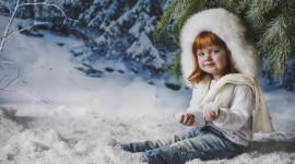 Girl Winter Hat Image