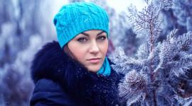 Girl Winter Hat Photo Download