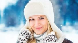 Girl Winter Hat Wallpaper Download