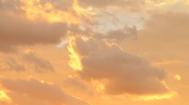 Golden Sky Photo Free