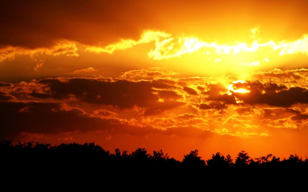 Golden Sky wallpapers HD