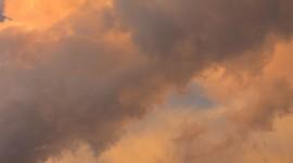 Golden Sky Wallpaper For IPhone