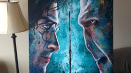 Harry Potter Art Wallpaper For IPhone Download