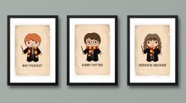 Harry Potter Art Wallpaper Full HD