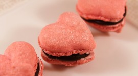 Heart Of Macaron Photo Free