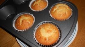 Homemade Muffins Wallpaper