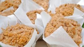 Homemade Muffins Wallpaper HQ