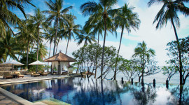 Hotel In Bali Wallpaper Background