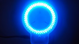 Led Ring Lamp High Quality Wallpaper