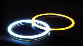 Led Ring Lamp Wallpaper Download