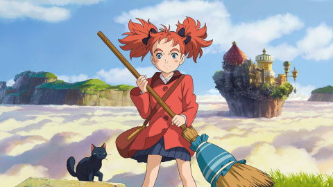 Mary And The Witch's Flower wallpapers high quality
