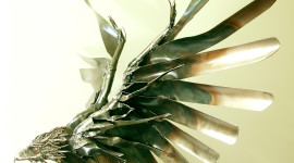 Metal Eagle Wallpaper For IPhone Free