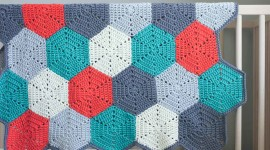 Multicolored Hexagon Image