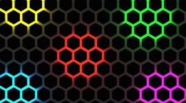 Multicolored Hexagon Image Download