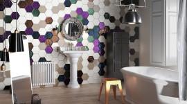 Multicolored Hexagon Photo