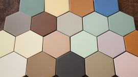 Multicolored Hexagon Photo Free