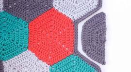 Multicolored Hexagon Wallpaper For Desktop