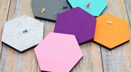 Multicolored Hexagon Wallpaper For Mobile