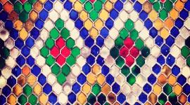 Multicolored Hexagon Wallpaper Full HD