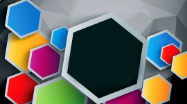 Multicolored Hexagon Wallpaper Gallery