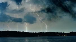 Night Storm Desktop Wallpaper HD