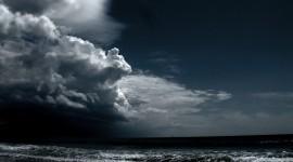 Night Storm Photo Free