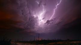 Night Storm Wallpaper For Desktop