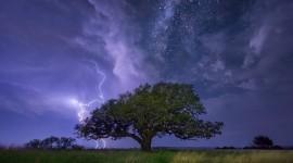 Night Storm Wallpaper Full HD