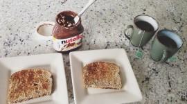 Nutella On Toast Wallpaper 1080p