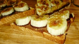 Nutella On Toast Wallpaper Download