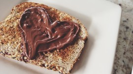 Nutella On Toast Wallpaper Full HD