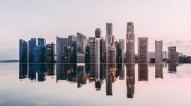 Photo From Skyscrapers Desktop Wallpaper