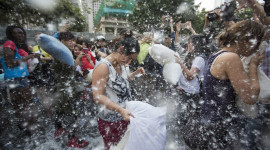 Pillow Fight Photo Free