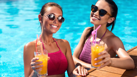 Pool Girl Cocktail wallpapers high quality