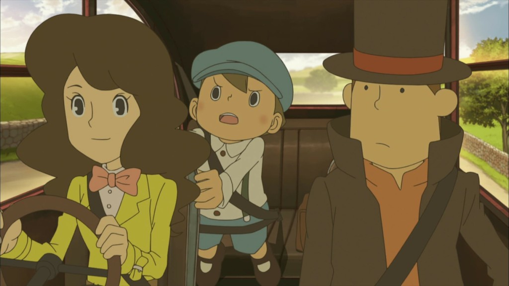 Professor Layton And The Eternal Diva wallpapers HD
