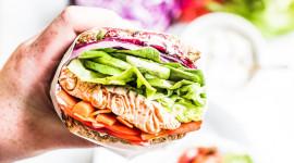 Rainbow Sandwich High Quality Wallpaper