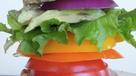 Rainbow Sandwich Wallpaper For IPhone 6