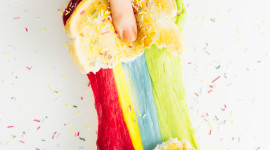 Rainbow Sandwich Wallpaper For IPhone Download