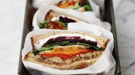 Rainbow Sandwich Wallpaper For IPhone Free