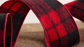 Red Ribbon Wallpaper Download Free