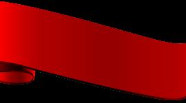Red Ribbon Wallpaper For Desktop