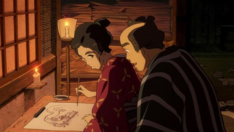 Sarusuberi Miss Hokusai wallpapers high quality