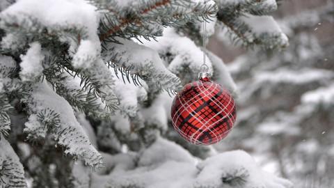 Snow Christmas Ball wallpapers high quality